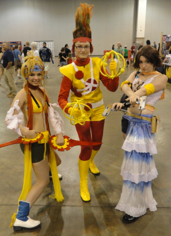 Lady Firestorm cosplay from the Denver Comic Con