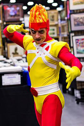 Firestorm at San Diego Comic-Con 2013