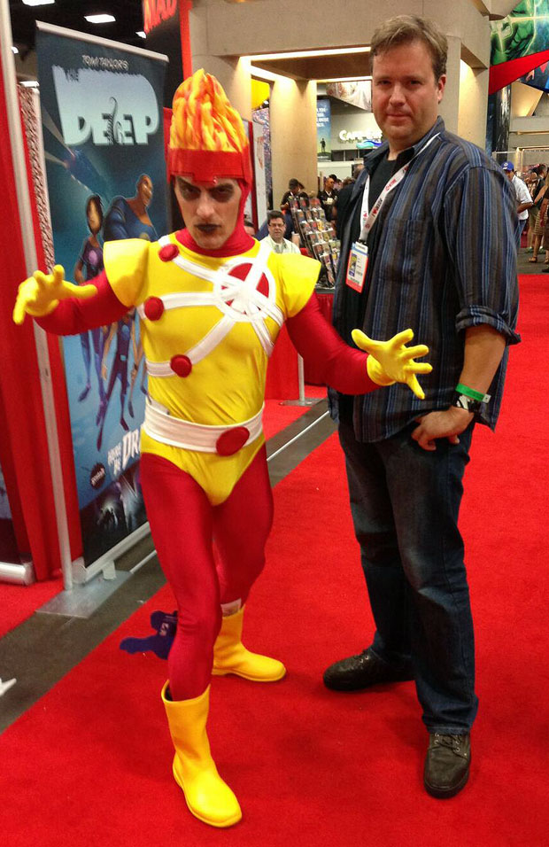 Firestorm with Thom Zahler of Love and Capes at SDCC 2013