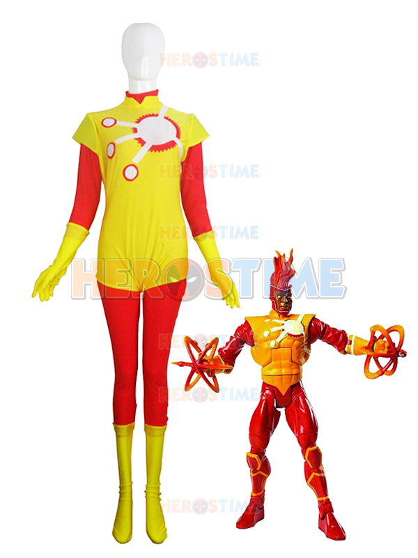 DC Comics Firestorm Spandex Superhero Costume for Sale