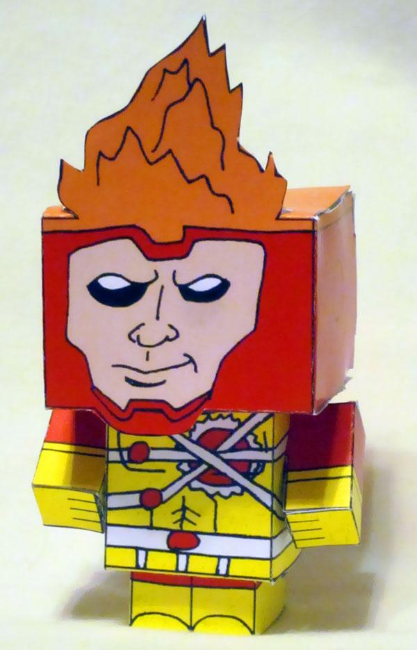 Firestorm Cubee by Joshua Wolf