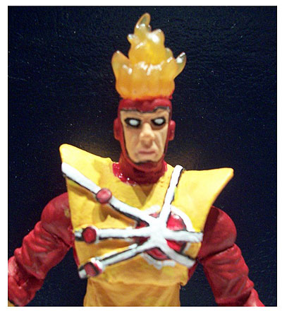 Firestorm custom action figure by John Gulick