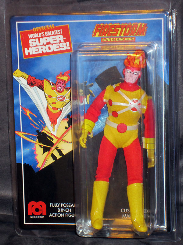 Custom Mego Firestorm by Markneto