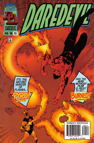 Daredevil #355 by Karl Kesel and Cary Nord