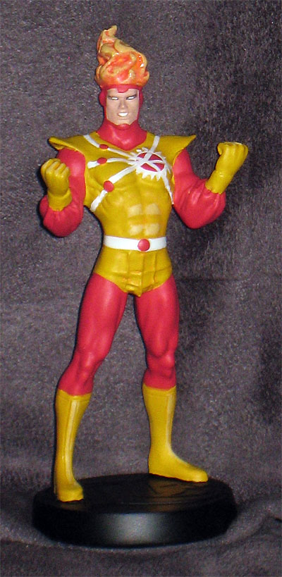Eaglemoss DC Comics Superhero Collection Figurine Magazine #46 featuring Firestorm