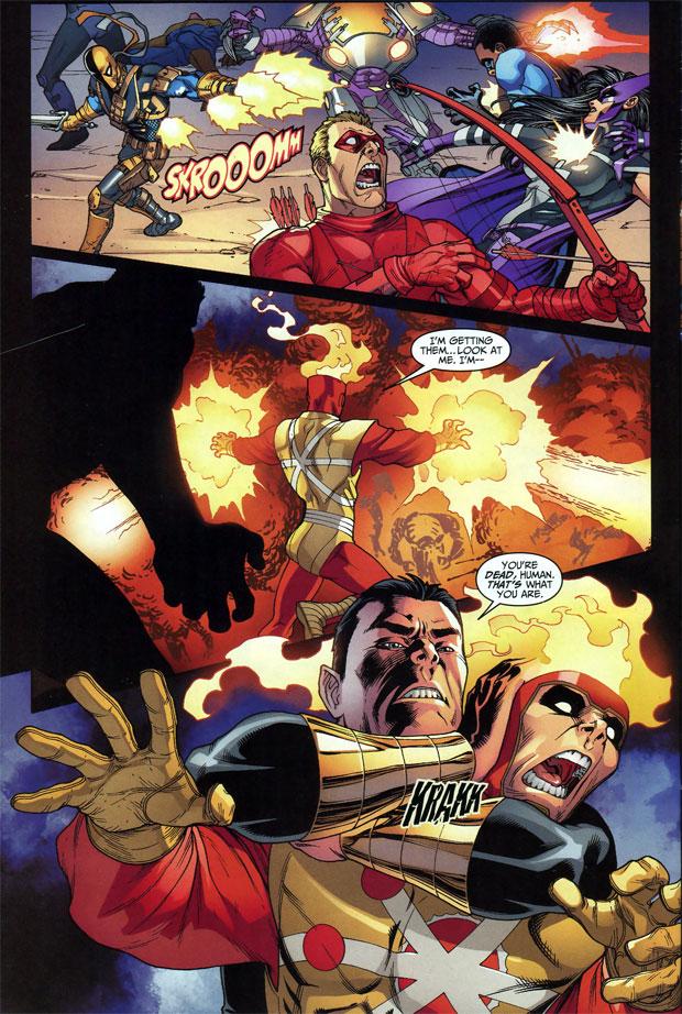 DC Universe Online Legends #23 artwork by Mike S. Miller