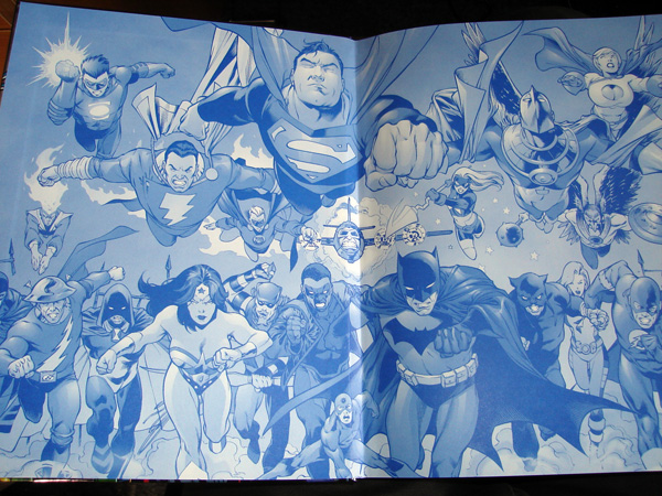 Inside Cover of the DC Comics Ultimate Character Guide