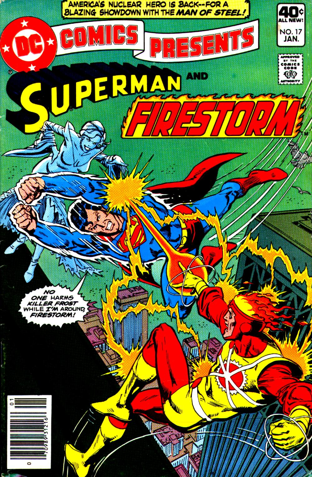DC Comics Presents #17 starring Superman and Firestorm by Gerry Conway and José Luis García-López