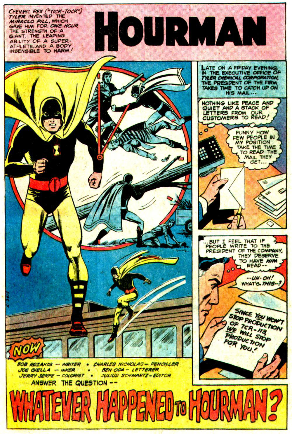 DC Comics Presents #25 Whatever Happened to Hourman