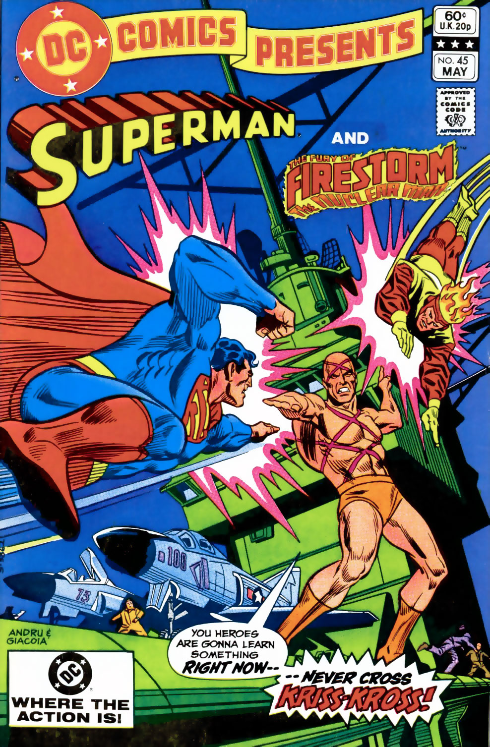 DC Comics Presents #45 featuring Superman and Firestorm