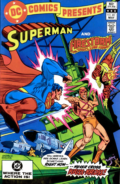 DC Comics Presents #45 featuring Superman and Firestorm