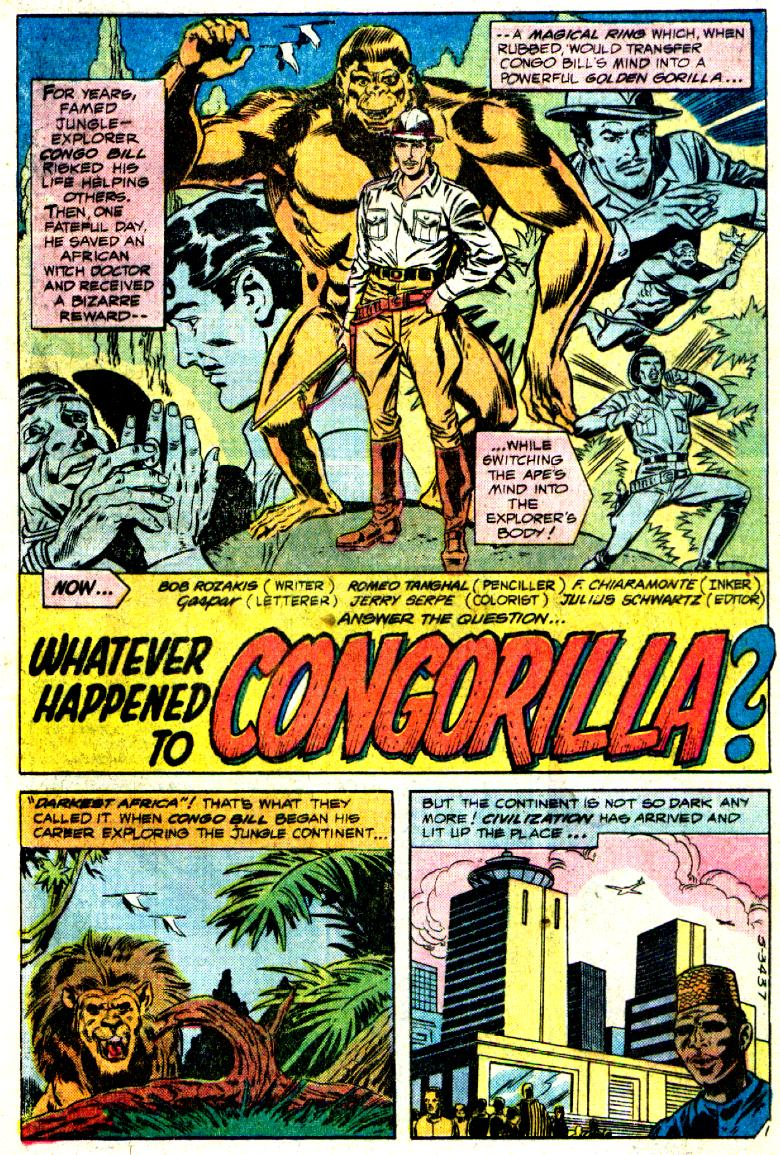 DC Comics Presents 27 - What Happened to Congorilla