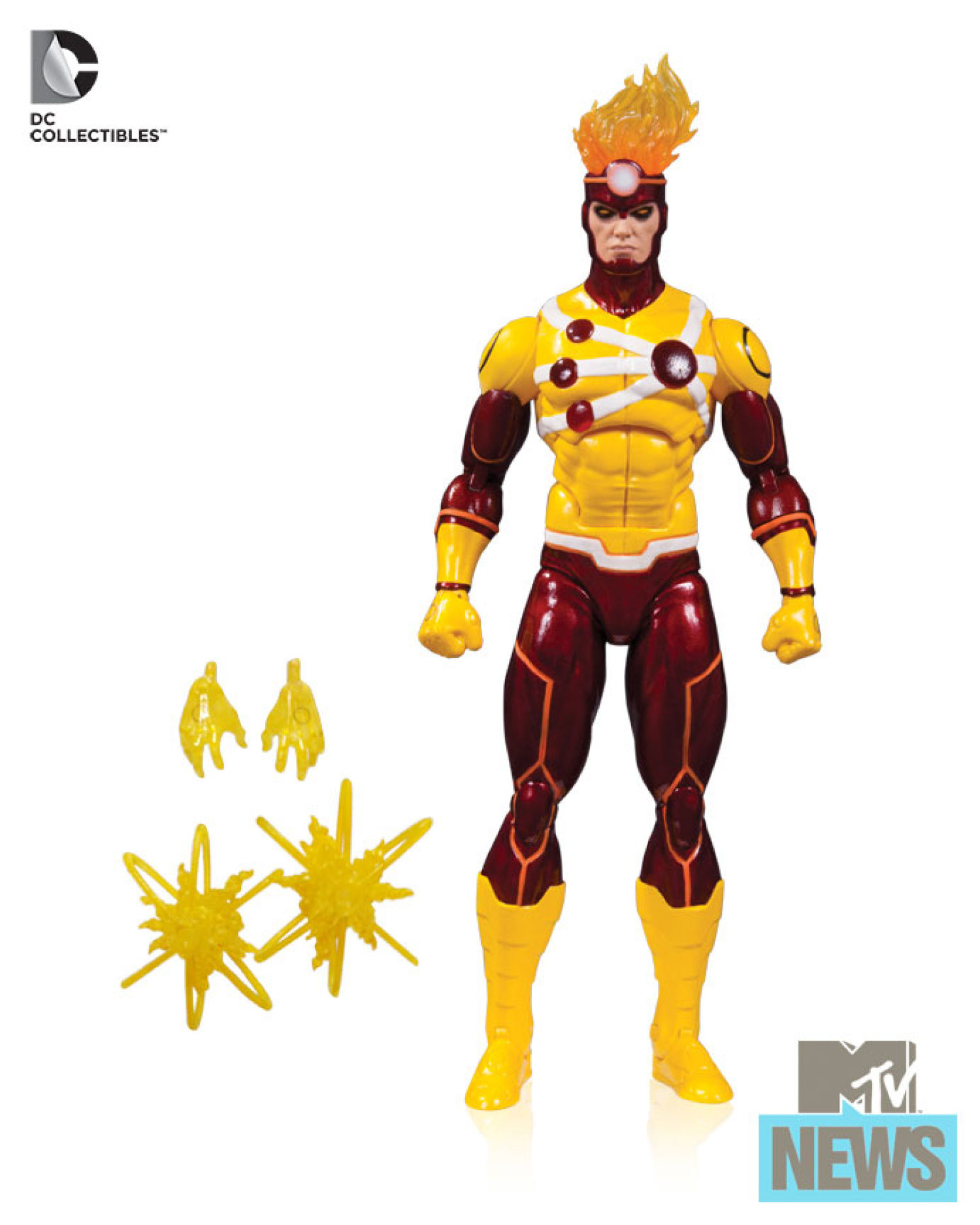 DC Icons Firestorm action figure from 2015 SDCC