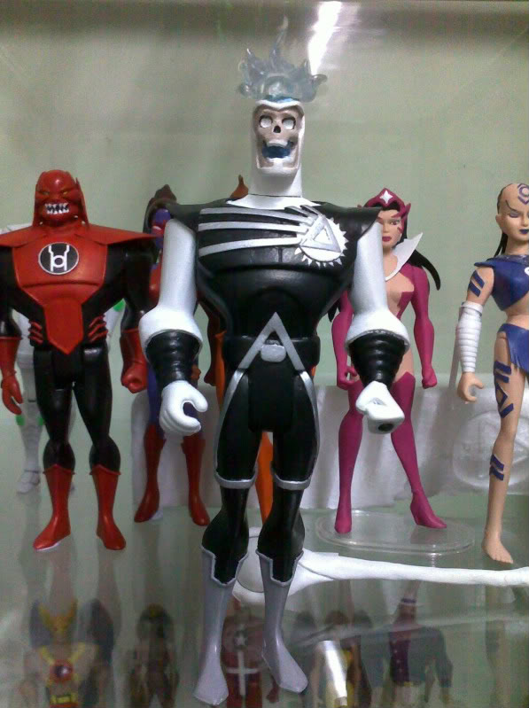 Deathstorm Justice League Unlimited custom action figure by Jeffrey