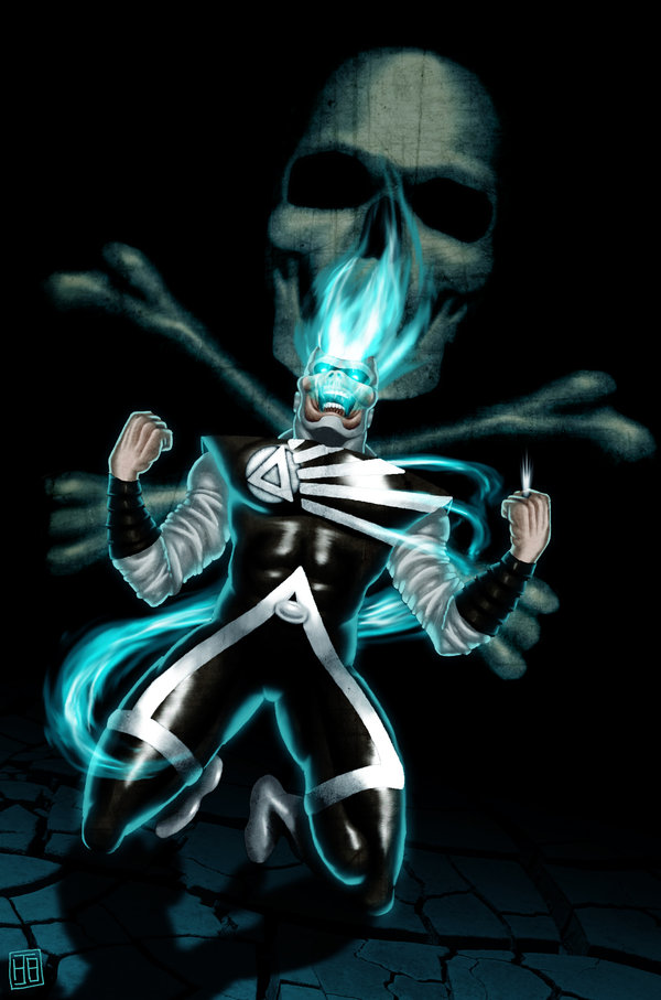 Black Lantern Firestorm by hollywood690 on deviantART