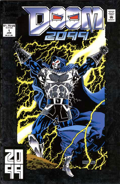 Doom 2099 cover by Pat Broderick