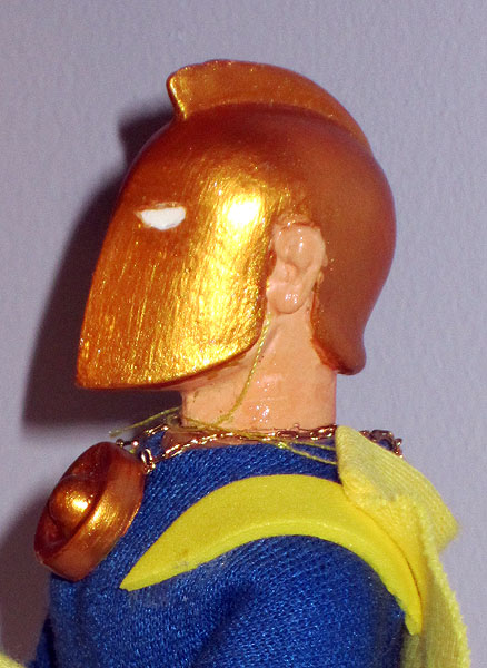 Custom Doctor Fate Mego Action Figure
