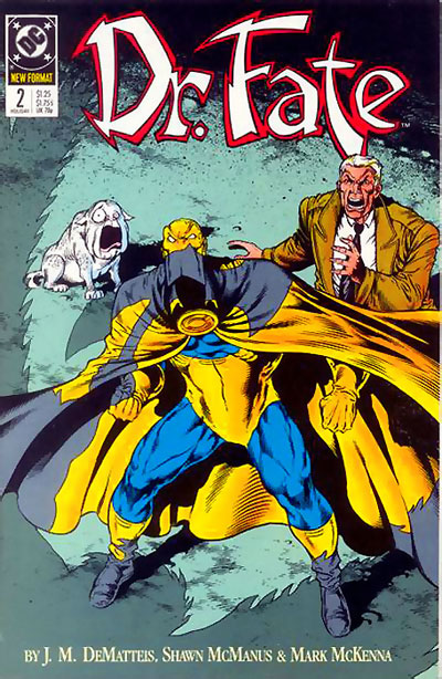 Doctor Fate #2 by J.M. DeMatteis and Shawn McManus