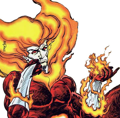 Firestorm Elemental by John Ostrander and Tom Mandrake