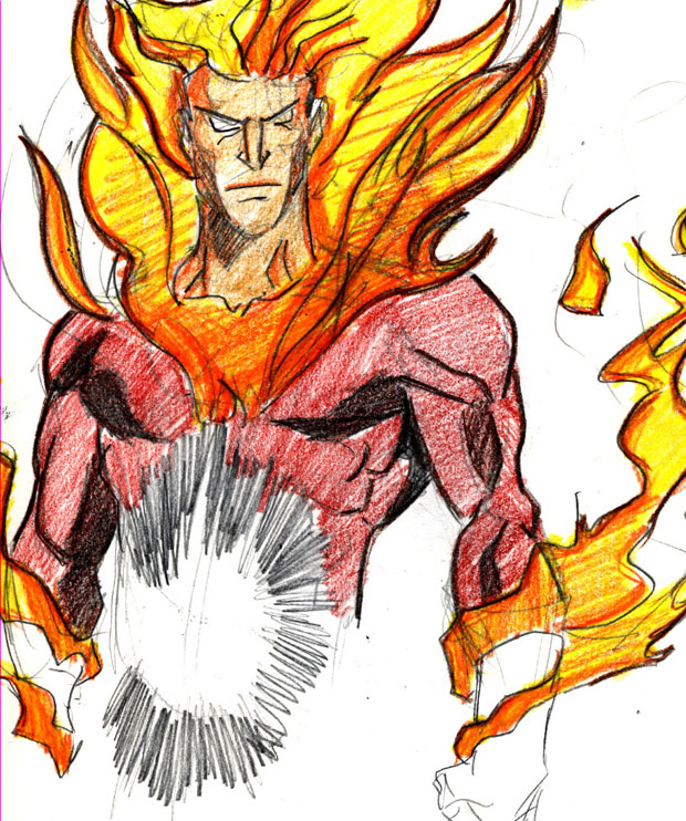 Elemental Firestorm by IronLion82