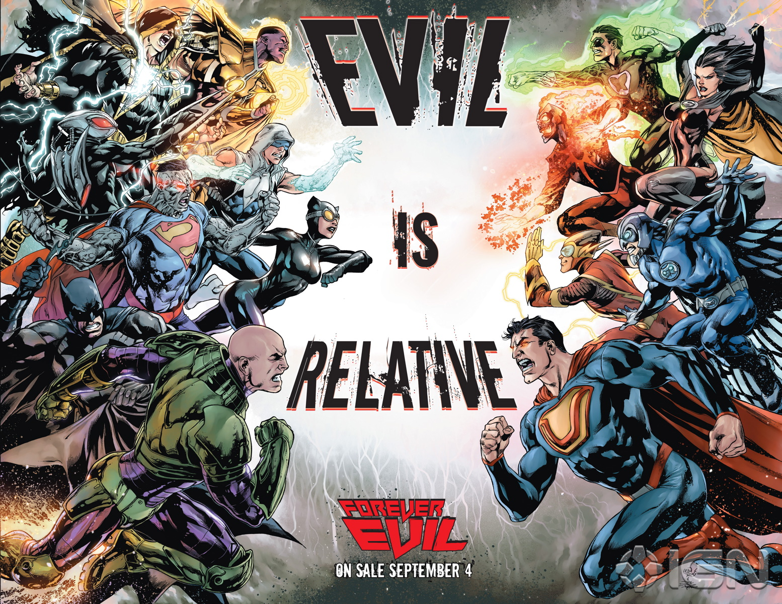 Forever Evil by Geoff Johns and David Finch