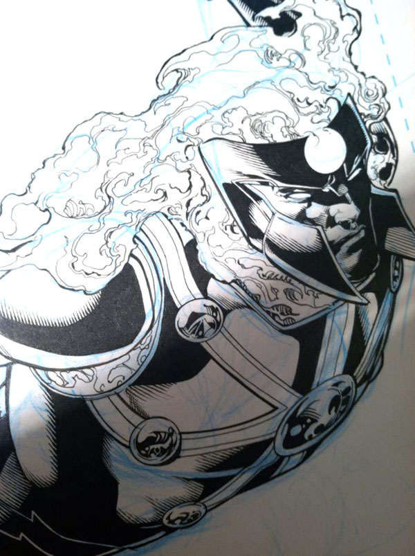 Hurricane by Ethan Van Sciver from FURY OF FIRESTORM #8