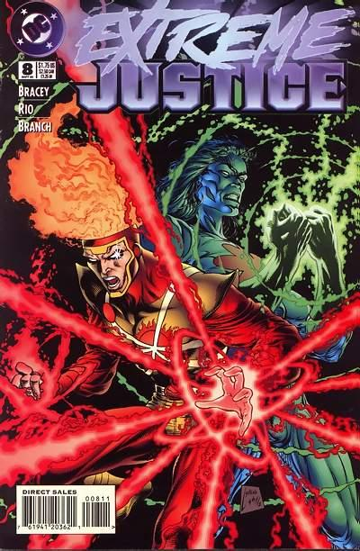 Extreme Justice #8 cover by Steve Lightle