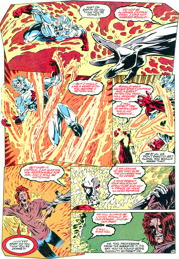 Extreme Justice #5 - Firestorm - How Ronnie Raymond beat cancer and got his powers back
