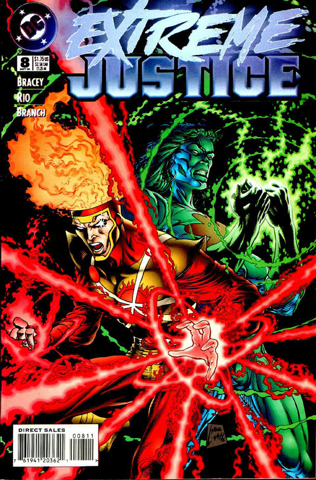 Firestorm by Steve Lightle from Extreme Justice #8