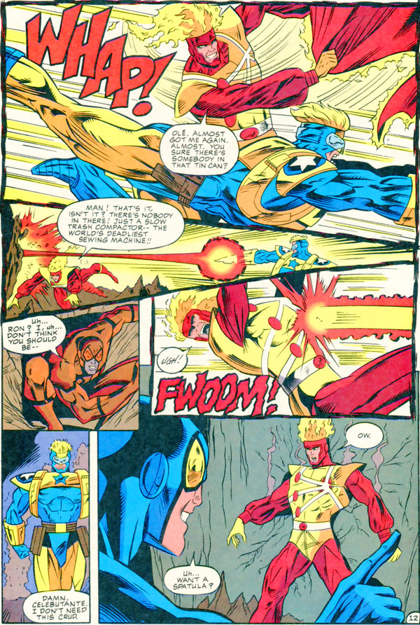 Extreme Justice #10 Featuring Booster Gold, Blue Beetle and Firestorm