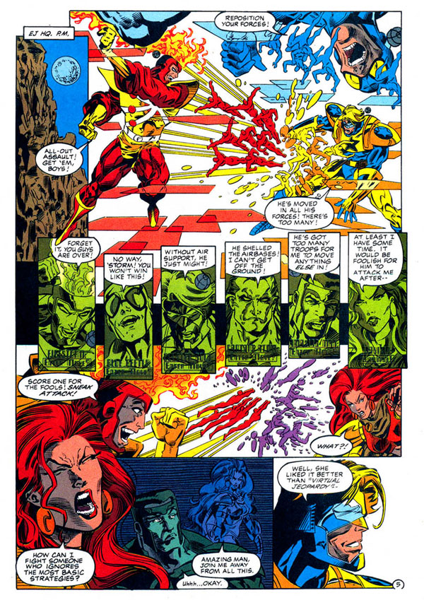 Extreme Justice #12 page 5 by Tom Morgan & Ken Branch