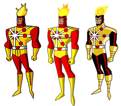 Fans vision of Firestorm animated