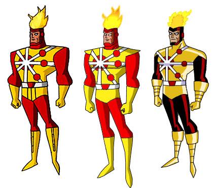 Fans vision of Firestorm animated
