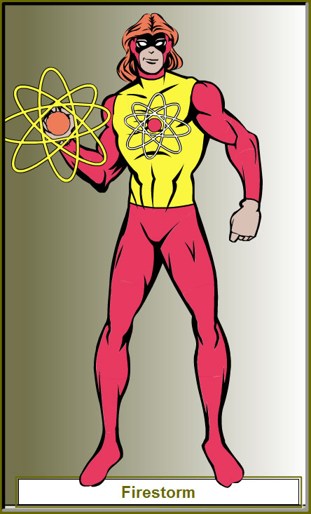 Firestorm redesign using HeroMachine by Ed The Unique Geek