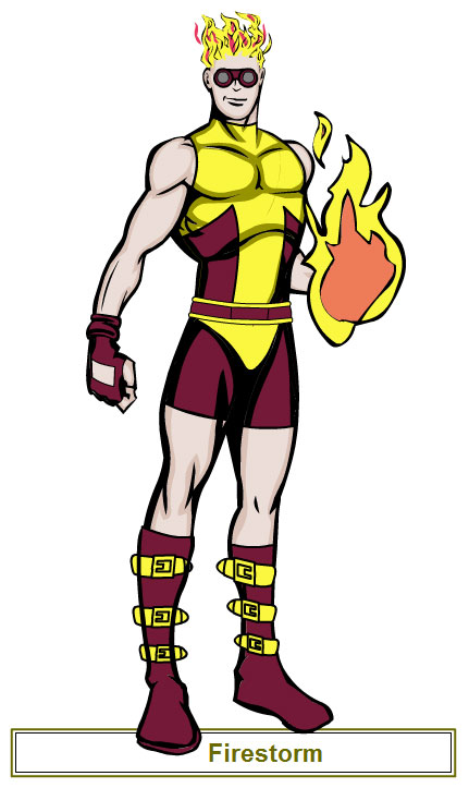 Firestorm redesign using Hero Machine by Shag