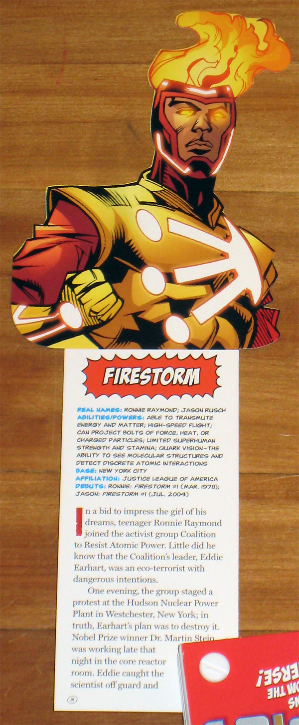 Firestorm in DC Comics Super Heroes and Villains Fandex