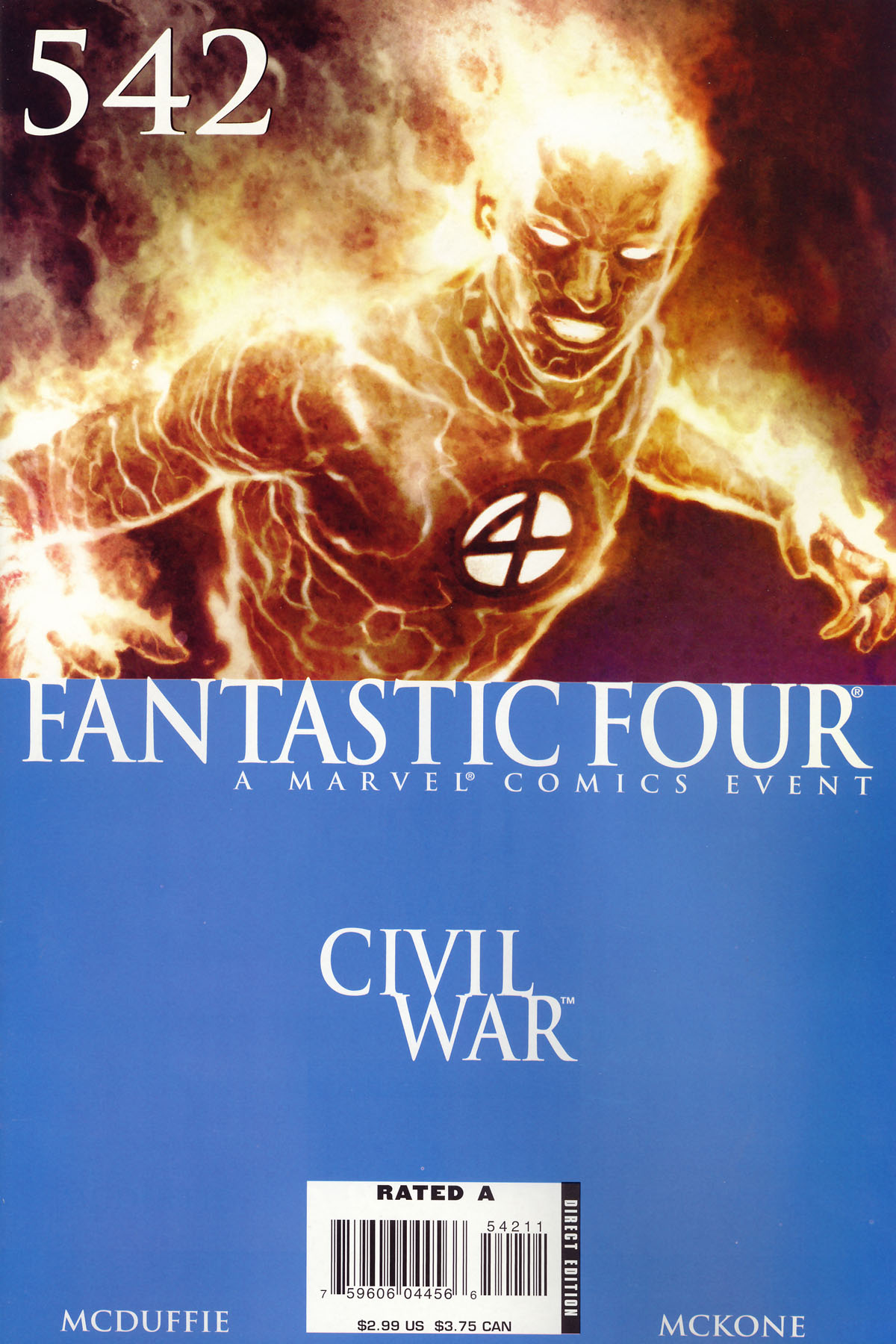 Fantastic Four #542 cover by Adi Granov