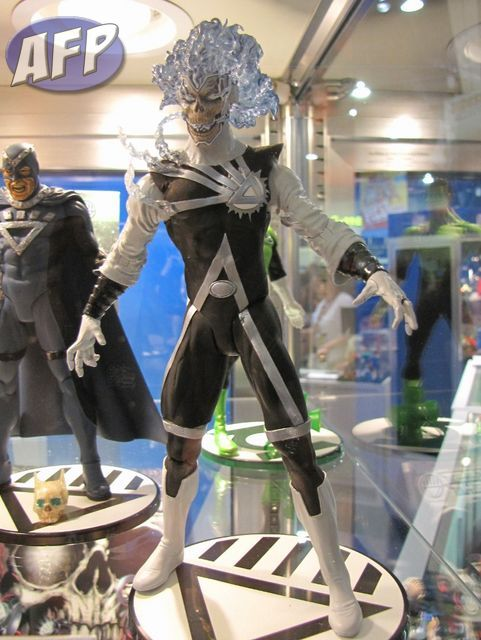 Black Lantern Firestorm action figure