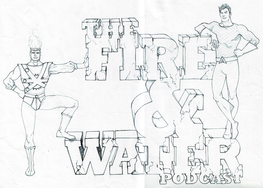 Fire and Water Podcast logo by Keith Samra