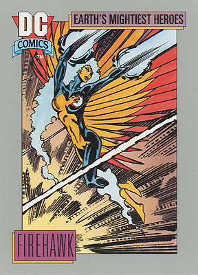 Firehawk DC Cosmic Cards by Tom Mandrake