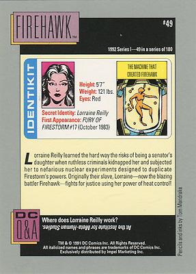 Firehawk DC Cosmic Cards