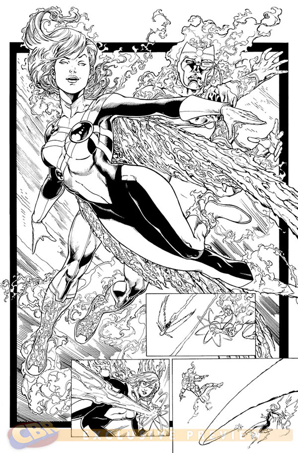 Firehawk by Ethan Van Sciver from FURY OF FIRESTORM #8