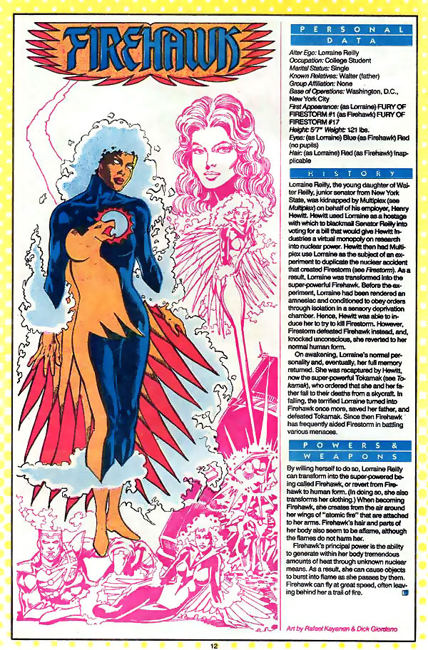 Firehawk by Rafael Kayanan from Who's Who