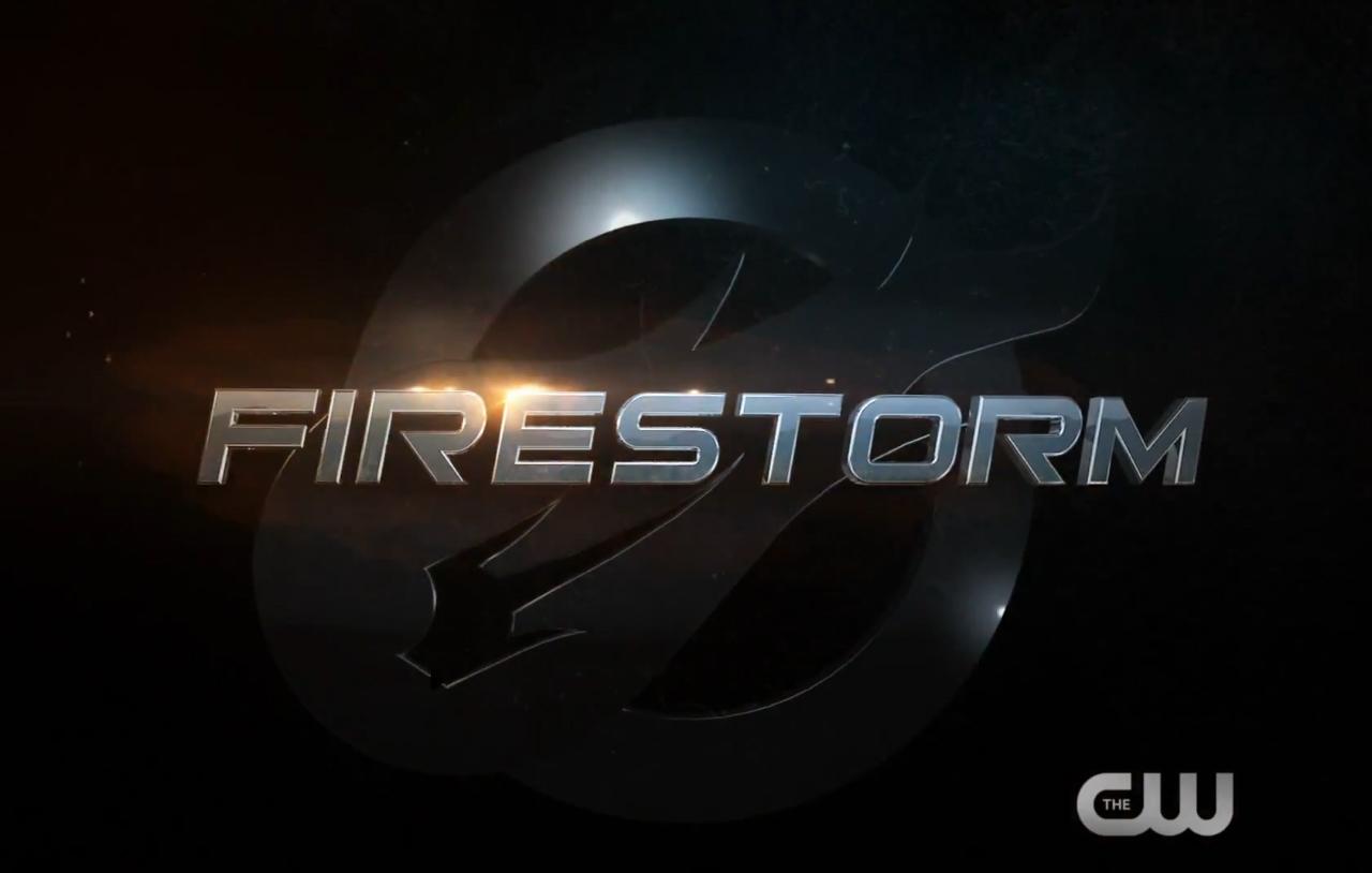 Firestorm logo on Legends of Tomorrow