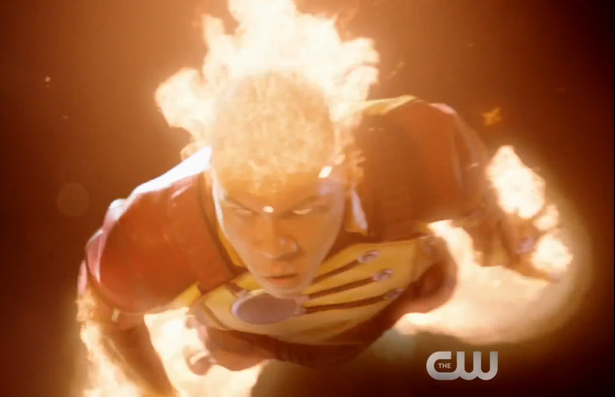 Franz Drameh as Firestorm and Jefferson Jackson Jax on Legends of Tomorrow