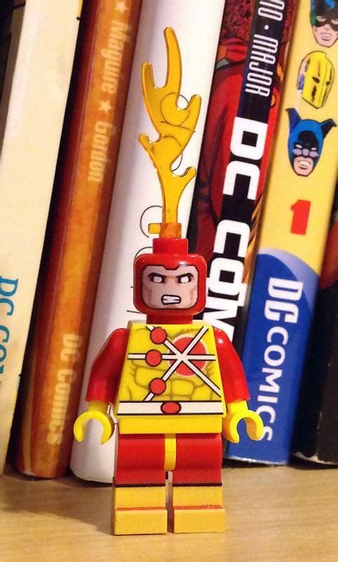 Firestorm custom Lego minifigure - DC Comics