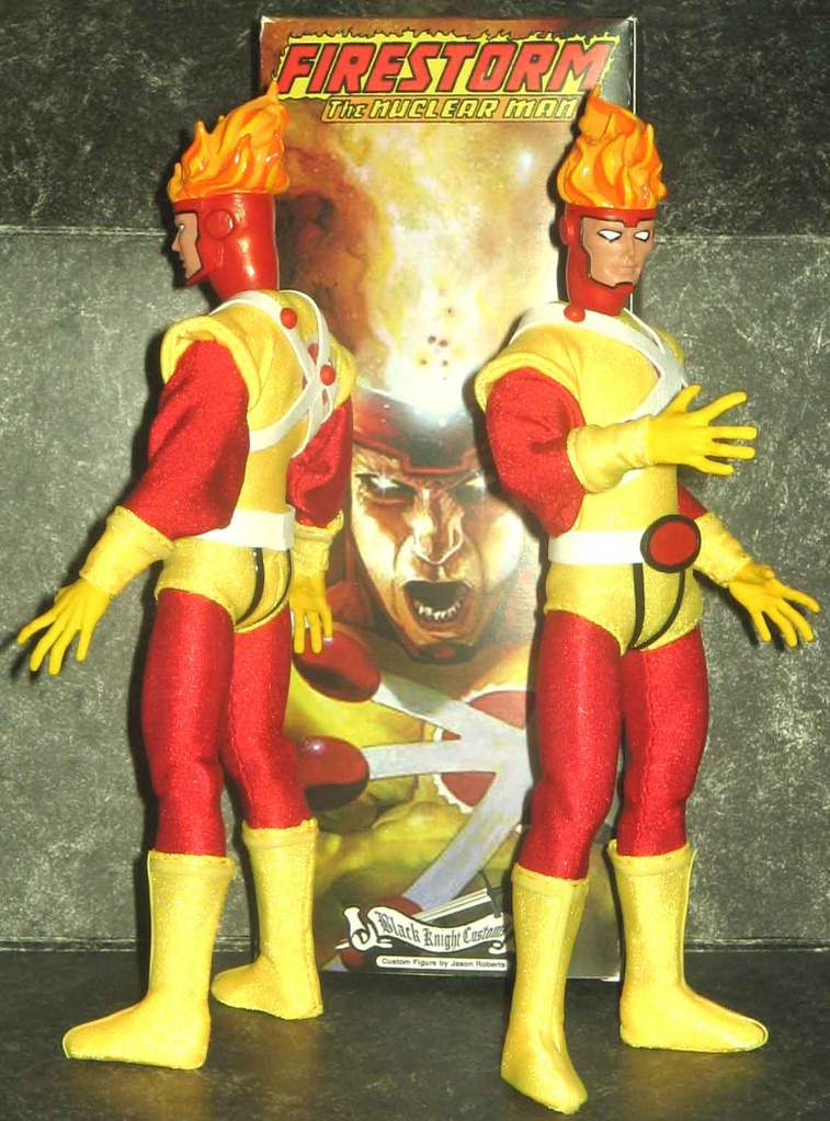 Custom Firestorm Mego on Mego Museum