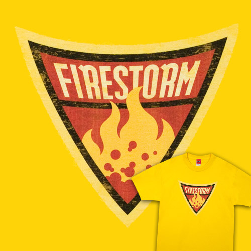 Firestorm Shield T-Shirt