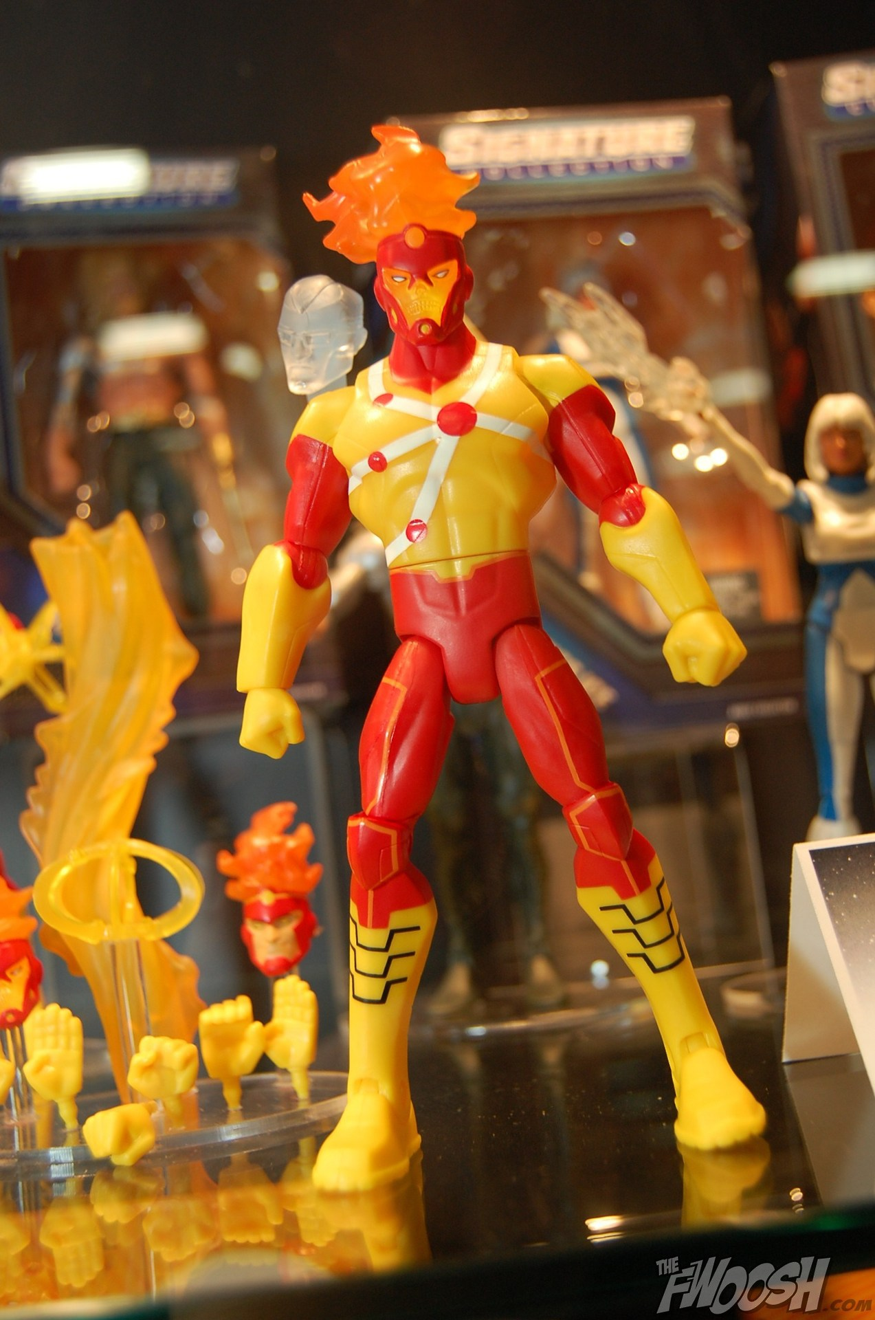 Firestorm Matty Collector Total Heroes action figure