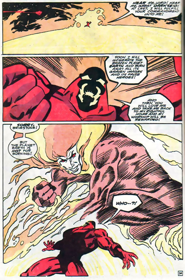 Brimstone in Firestorm #100